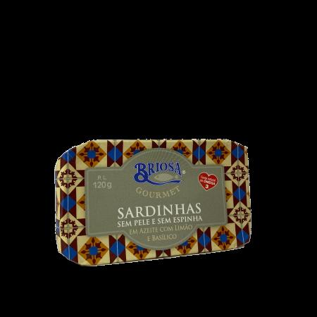 sardinha azeite limão basílico briosa