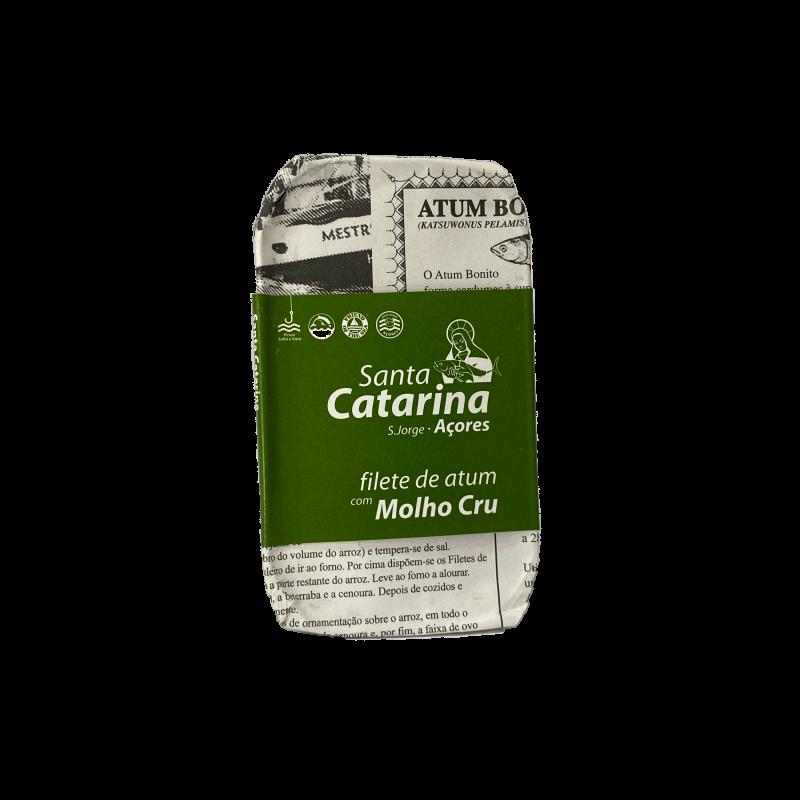 filete atum molho cru santa catarina