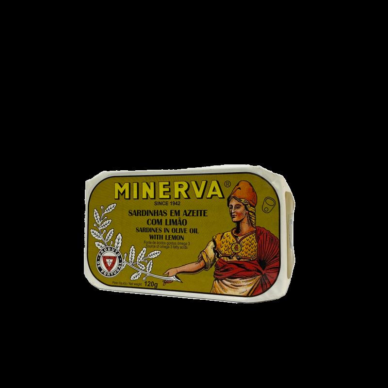 sardinha azeite limão minerva