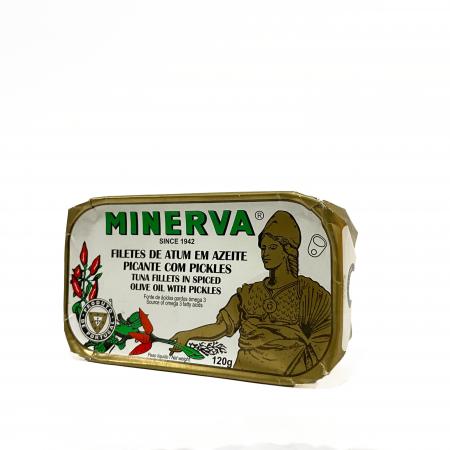 filete atum azeite picante pickles minerva