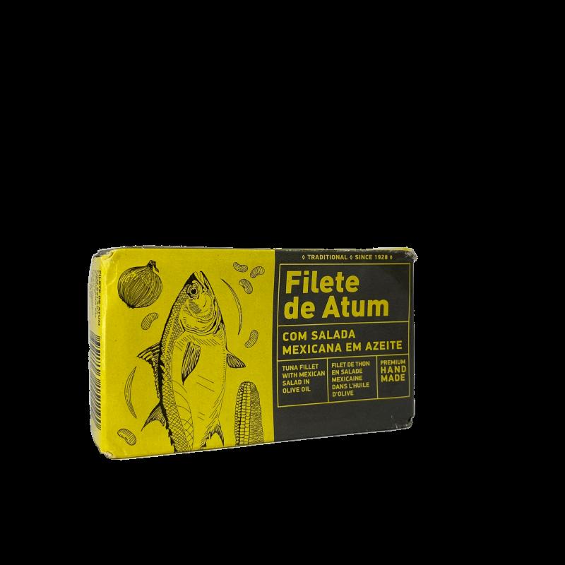 filete atum salada mexicana aveiro